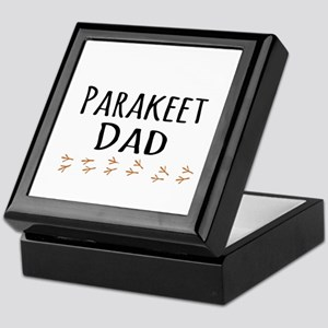 Parakeet Dad Keepsake Box