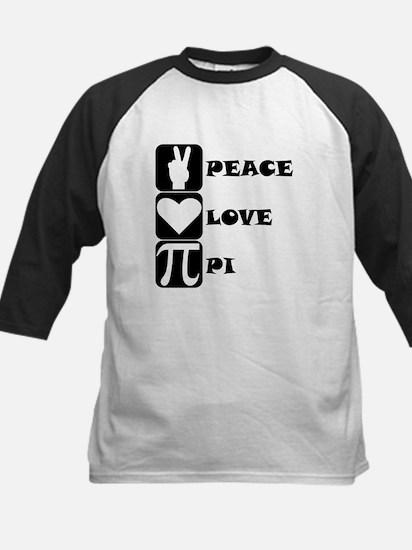 Peace Love Pi Baseball Jersey