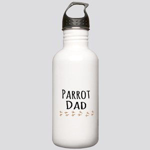 Parrot Dad Sports Water Bottle