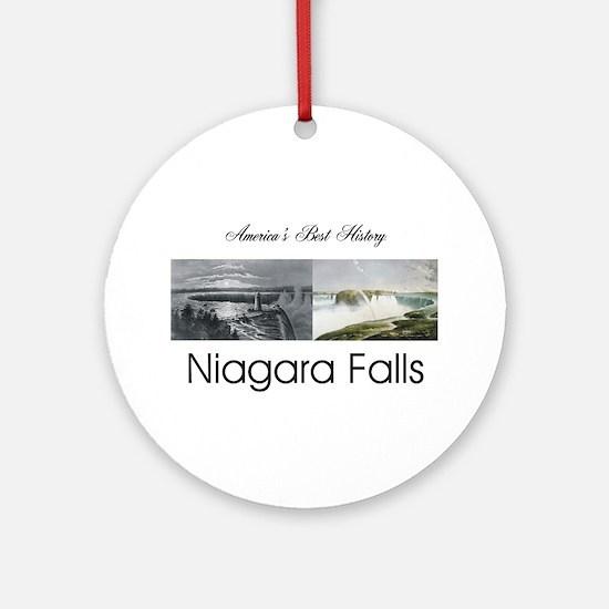 ABH Niagara Falls Round Ornament