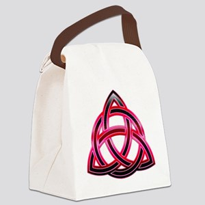Charmed Triquetra 3 Canvas Lunch Bag