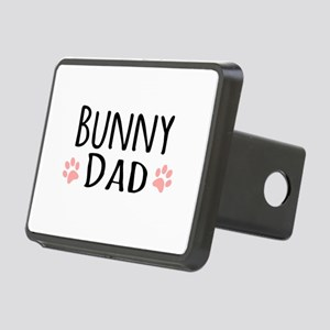 Bunny Dad Rectangular Hitch Cover