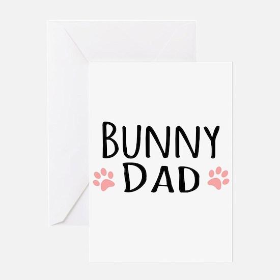Bunny Dad Greeting Cards
