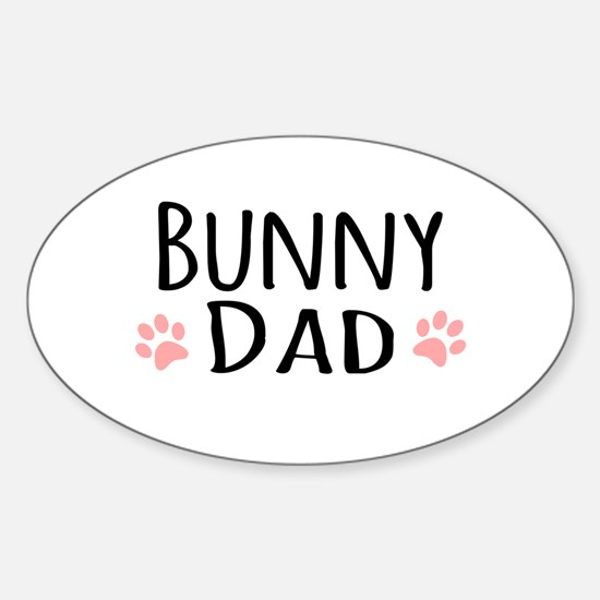 Bunny Dad Decal
