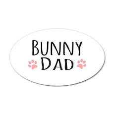 Bunny Dad Wall Sticker