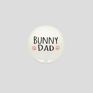 Bunny Dad Mini Button