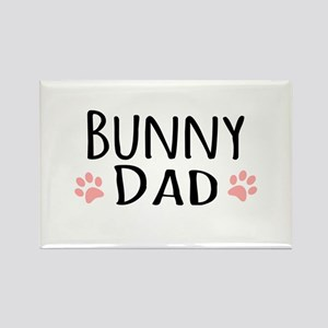 Bunny Dad Magnets