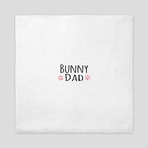Bunny Dad Queen Duvet