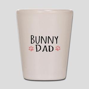 Bunny Dad Shot Glass