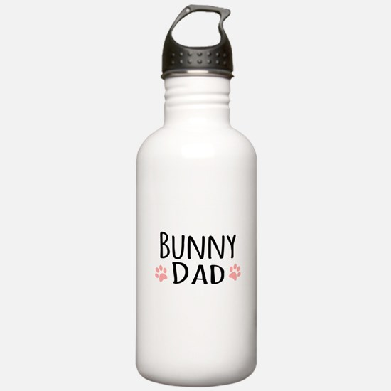 Bunny Dad Sports Water Bottle