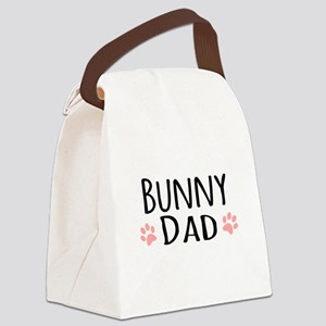 Bunny Dad Canvas Lunch Bag
