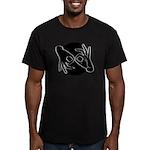 SL Interpreter 02-01 Men's Fitted T-Shirt (dark)