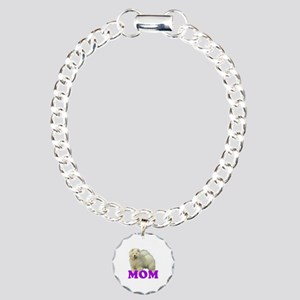 Chow Mom Charm Bracelet, One Charm