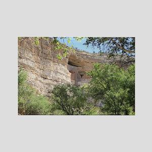 Montezuma's Castle Rectangle Magnet
