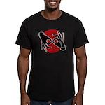 SL Interpreter 02-02 Men's Fitted T-Shirt (dark)
