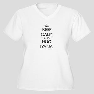 Keep Calm and HUG Iyana Plus Size T-Shirt