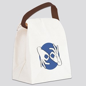 SL Interpreter 01-05 Canvas Lunch Bag