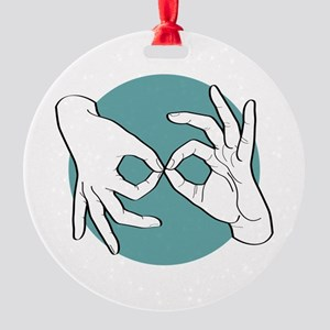 SL Interpreter 01-06 Round Ornament
