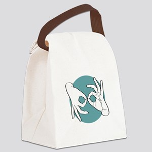 SL Interpreter 01-06 Canvas Lunch Bag