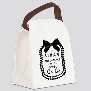 LOVE COCO Canvas Lunch Bag