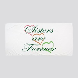 Sisters Are Forever Beach Towel