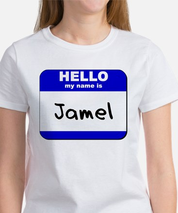 hello my name is jamel Women's T-Shirt