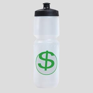 $$$$! Money! Dollar sign! Sports Bottle