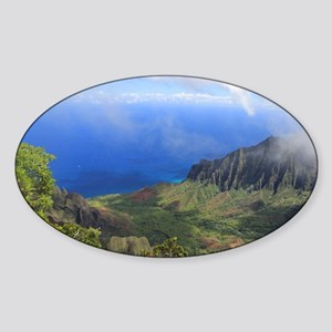Napoli Coast Sticker (Oval)