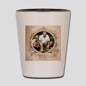 Personalizable Edwardian Photo Frame Shot Glass