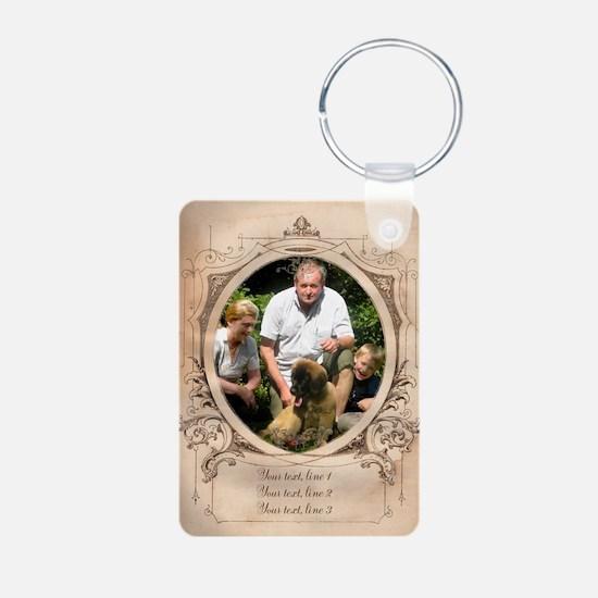 Personalizable Edwardian Photo Frame Aluminum Phot