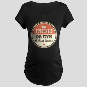 OB GYN Vintage Maternity Dark T-Shirt