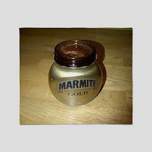 Marmite Gold Throw Blanket