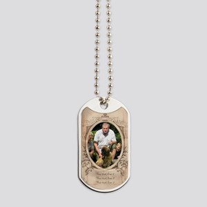 Personalizable Edwardian Photo Frame Dog Tags