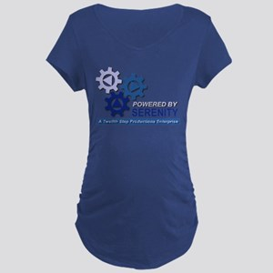 Powered by Serenity Maternity Dark T-Shirt