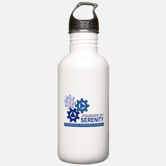 Powered by Serenity Water Bottle