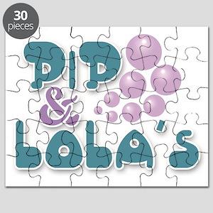 Pip & Lola's Logo Stacked Puzzle