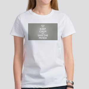 Keep Calm Save Panda Sh T-Shirt