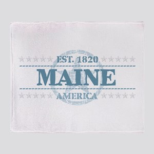 Maine Throw Blanket