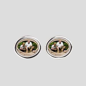 Personalizable Edwardian Photo Frame Cufflinks