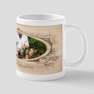 Personalizable Edwardian Photo Frame Mug