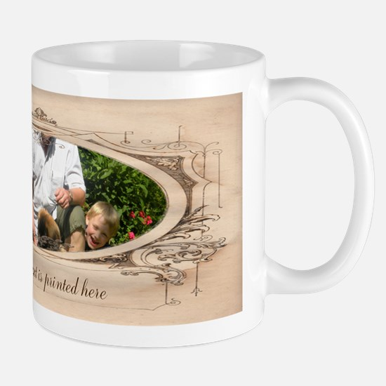 Personalizable Edwardian Photo Frame Mug