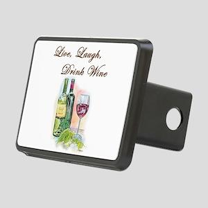 Live Laugh Wine Hitch Cover