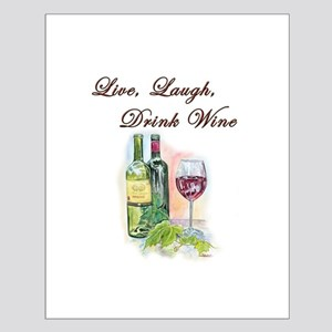 Live Laugh Wine Posters