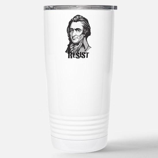 Thomas Paine Resist Travel Mug