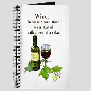 Wine Story Journal