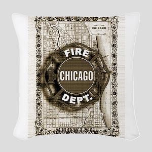 Chicago-20 Woven Throw Pillow