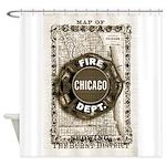 Chicago-20 Shower Curtain