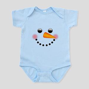 Snowman Face Body Suit