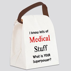 medical stuff Canvas Lunch Bag
