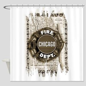 Chicago-21 Shower Curtain